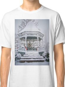 Gazebo in the Snow Classic T-Shirt