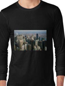 Midtown Manhattan Long Sleeve T-Shirt