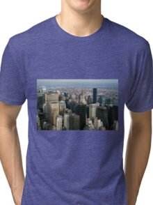 Midtown Manhattan Tri-blend T-Shirt