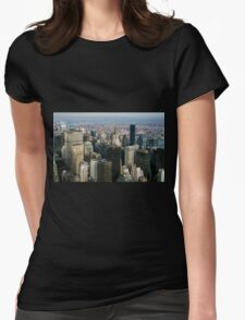 Midtown Manhattan Womens Fitted T-Shirt