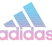 Adidas Isometric Logo  by Louis Malouf