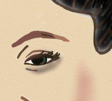 Kim Kardashian Crying Face Sticker Sticker