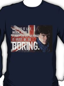 Sherlock Union Jack Quote T-Shirt