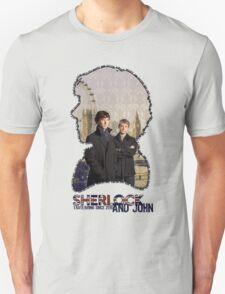 Sherlock and John: tagteam T-Shirt