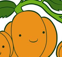 Kawaii pumpkins Sticker