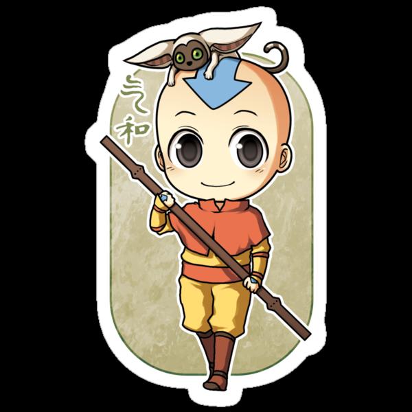 Aang by banafria