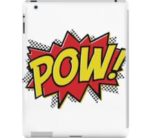 POW! 2 iPad Case/Skin