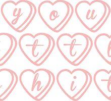 you little sh*t--hearts by skyekathryn