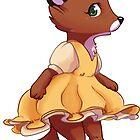 Cute fox girl by Tunnelfrog