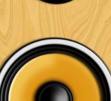 Maple Loudspeaker No Screen Sticker