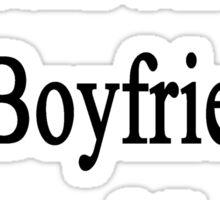 Cats Are My Boyfriend's Second Love Sticker