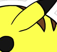 Chubby Pikachu Sticker