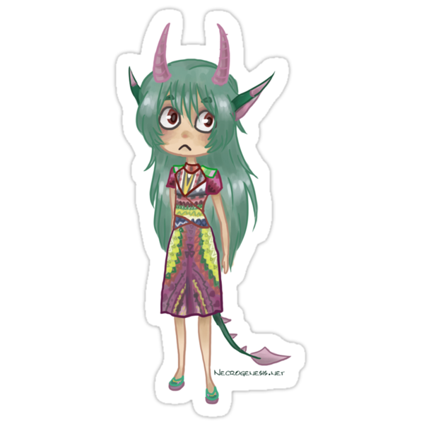 Fashion Clorin Chibi by Necrogenesis