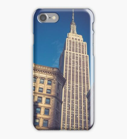 Under the Empire State Building iPhone Case/Skin