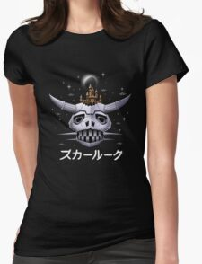 Boazanian Mother Ship Womens Fitted T-Shirt