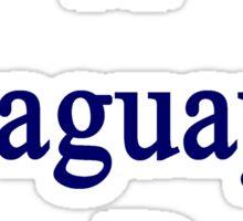 A Paraguayan Can Do It Sticker
