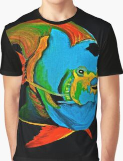 Angel Fish Swimming in the Sea Graphic T-Shirt
