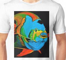 Angel Fish Swimming in the Sea Unisex T-Shirt