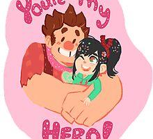 ur my hero by professah