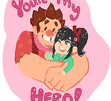 ur my hero by Amanda Long