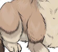 Wolf Sticker Sticker