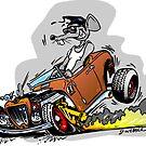 Skreeeech Rat Rod by George Webber