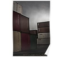 Fremantle Containers Poster