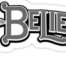 Nonbeliever Vintage by Tai's Tees Sticker