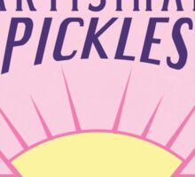 Prismo's Artisinal Pickles Sticker