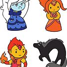 Adventure Time Chibis - Set 3 by TipsyKipsy