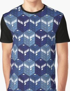 Infinite Phone Boxes Graphic T-Shirt