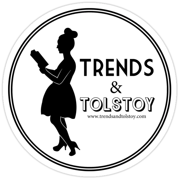Trends and Tolstoy - B&W by TrendsTolstoy