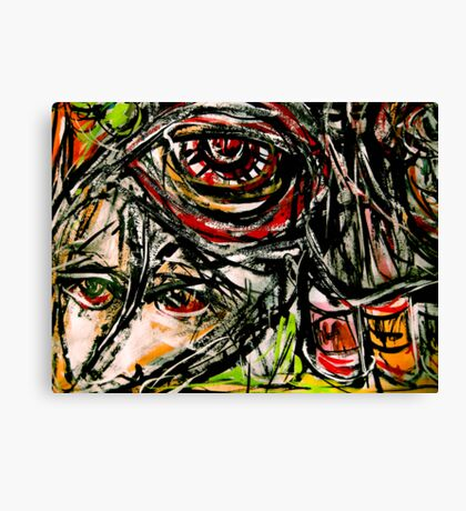 red eyed....  Canvas Print