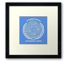 International Astronaut Corps Framed Print