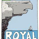 Travel sticker: Royal National Park, Eagle Rock by Joel Tarling
