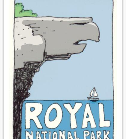 Travel sticker: Royal National Park, Eagle Rock Sticker