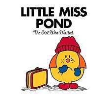 Little Miss Pond - STICKER by Mandrie