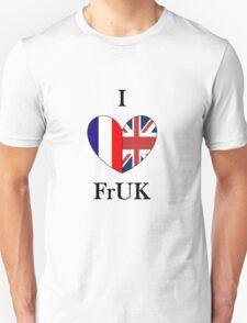 I heart FrUK Unisex T-Shirt