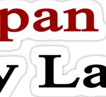 Japan Is My Land  Sticker