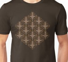 Leaf on the Wind Damask Unisex T-Shirt
