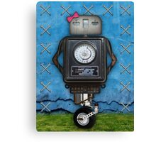 Mrs. Robot Canvas Print