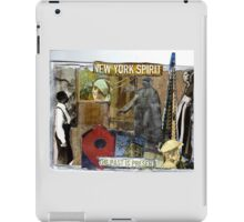 New York Spirit (the past is present) iPad Case/Skin