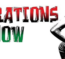 REPARATIONS NOW/ SLAVE BACK PRINTS, CARDS & POSTERS. by ernestbolds