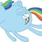 Poobrains - Rainbow Dash by TipsyKipsy