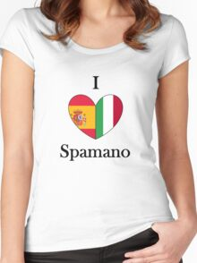 I heart Spamano Women's Fitted Scoop T-Shirt