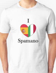 I heart Spamano Unisex T-Shirt