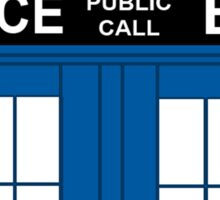 Dr.Who Love Sticker
