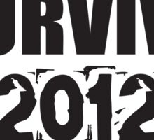I survived 2012 Sticker