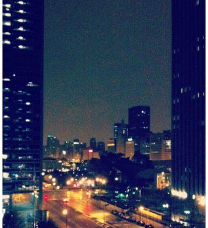 View of Chicago Sticker