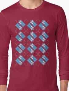 Gallifrey Argyle Long Sleeve T-Shirt